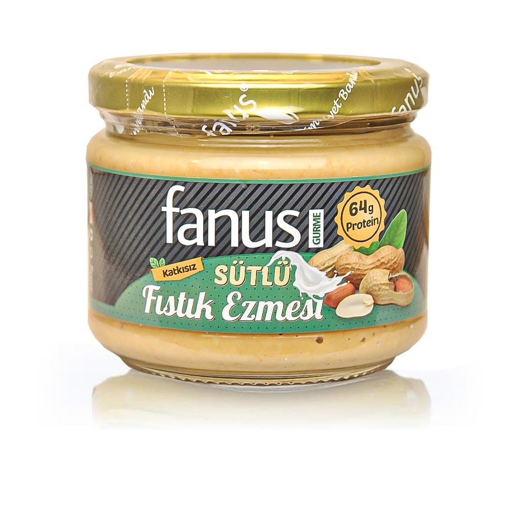 Fanus Sütlü Fıstık Ezmesi 300g