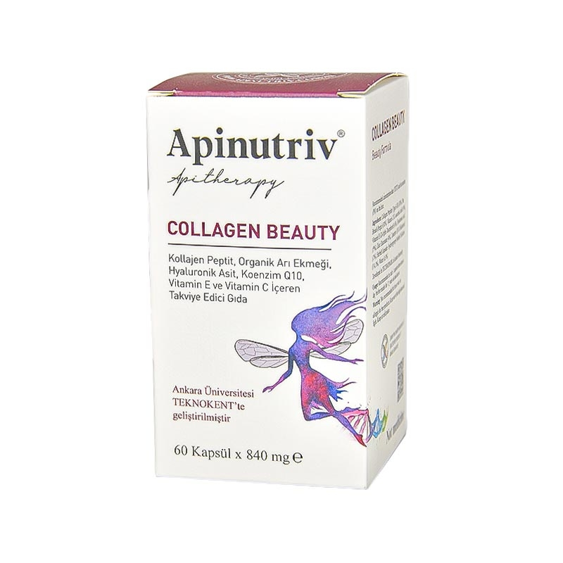 Apinutriv Collagen Beauty 60 Kapsül